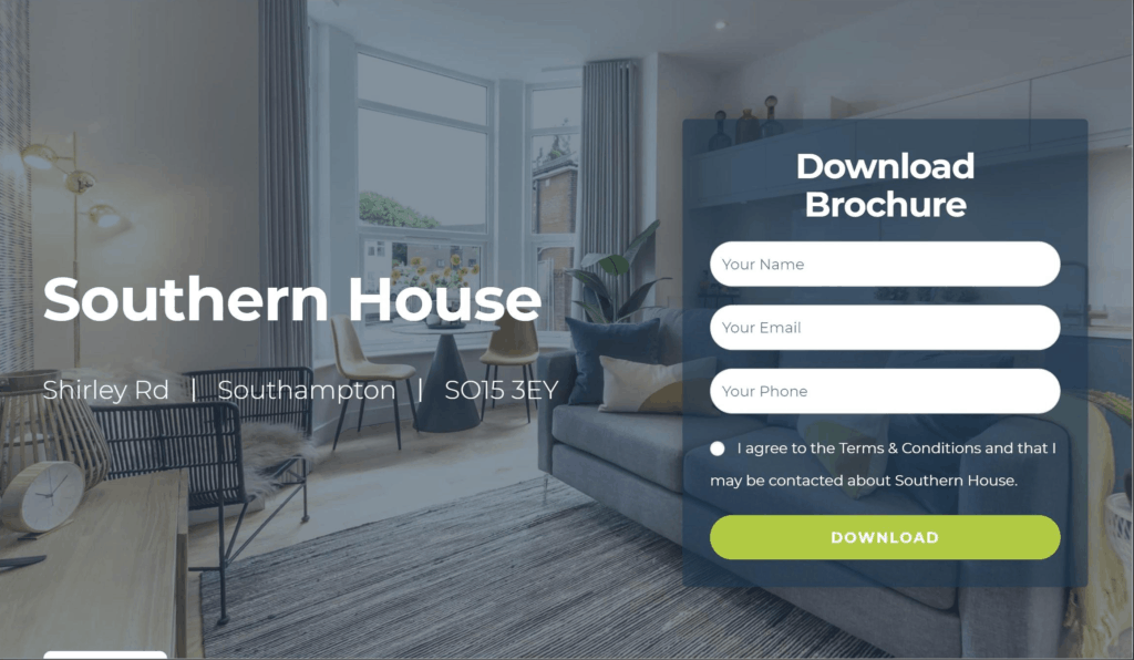 Southern House Website
